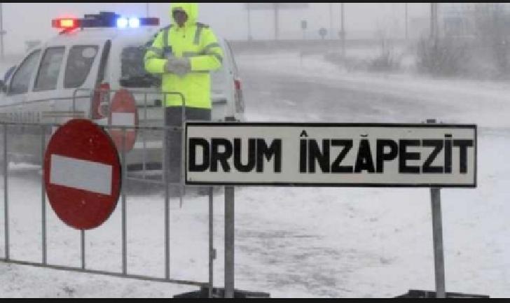Comunicat IPJ Prahova. Recomandari pentru circulatia in siguranta, in conditii de iarna