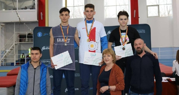 Atletul Alexandru Geamănu, medalie de bronz la Campionatele Naţionale de Juniori 1