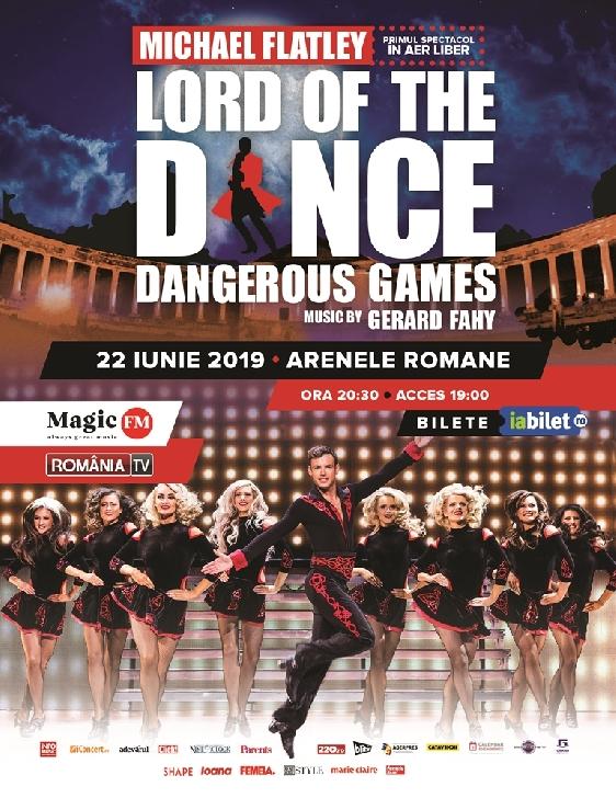 Peste 4.000 de persoane sunt aşteptate pe 22 iunie, la spectacolul LORD OF THE DANCE - DANGEROUS GAMES