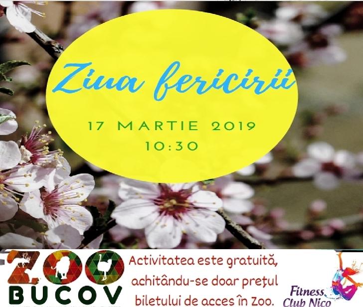 Ziua Fericirii va fi sărbătorită la Foişorul din Grădina Zoologică Bucov