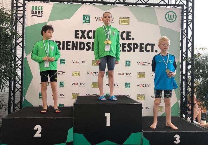 """Înotătorii de la CSM Ploieşti, 51 de medalii la """"Swim Race Days Dortmund"""