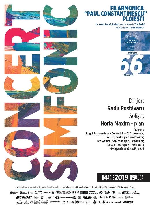 """Pianistul Horia Maxim revine pe scena Filarmonicii """"Paul Constantinescu"""" Ploiesti"""