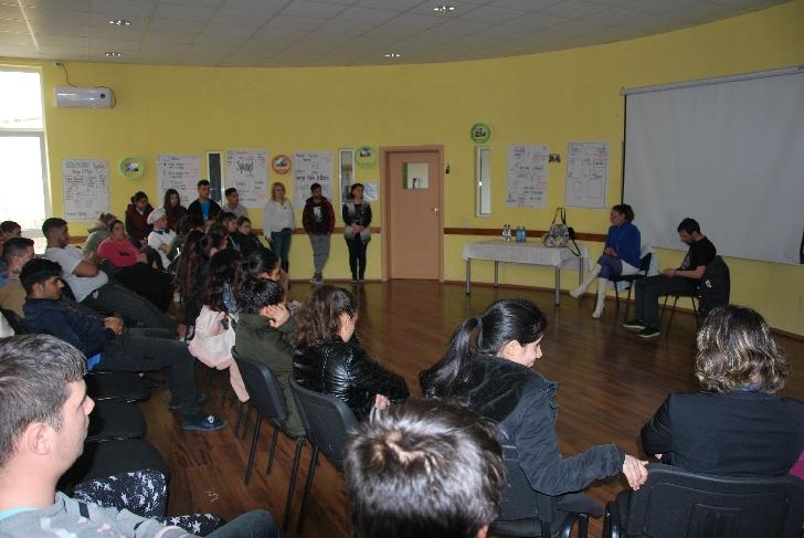 Workshop pe teme de prevenţie, etică socială şi psihologie la Şcoala de meserii Concordia România