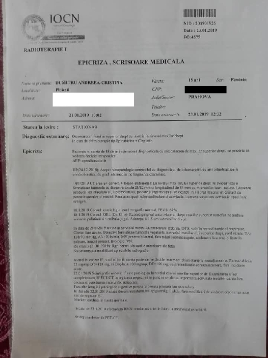 """Spectacol caritabil pentru o eleva a  Liceului """" Toma Socolescu """" Ploiesti"""