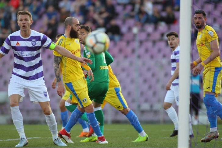 Umilinta pe malul Begai . ASU Politehnica Timişoara – FC Petrolul Ploieşti  3-0