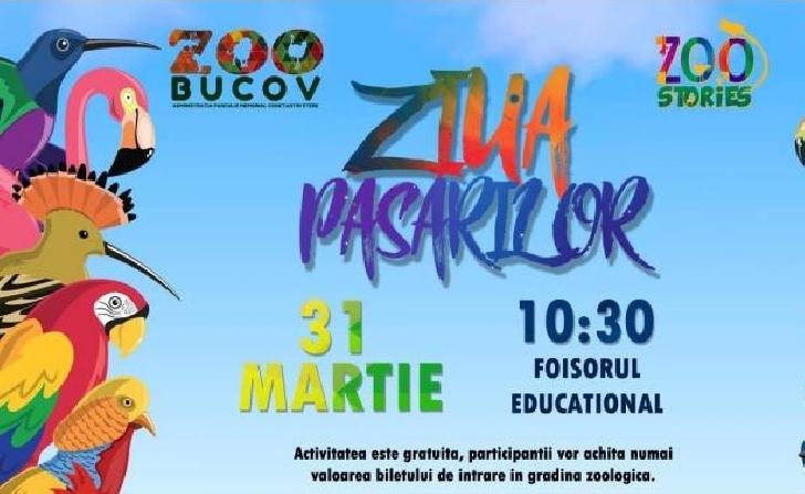 """Ziua păsărilor"", la Zoo Bucov"