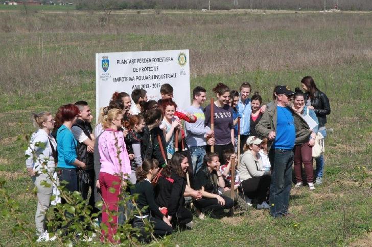 Clubul ROTARY Ploieşti va organiza în data de 30 martie 2019 o acţiune de plantare puieţi pe Centura de Est a Ploieştiului