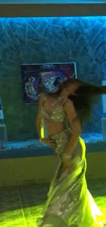 EXCLUSIV ! Ioana  Polydora, locul 2 la un concurs de belly-dance în Grecia (Santorini)