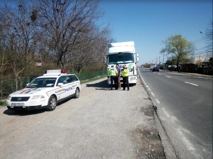 Record de amenzi rutiere. 1220 de amenzi date de politistii rutieri , in doua zile