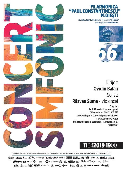 Violoncelistul Răzvan Suma concertează joi la Ploieşti