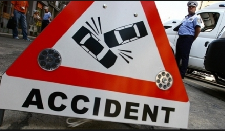 Accident pe DN1, în zona benzinăriei Petrom