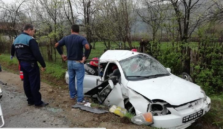 Accident grav in comuna Vărbilău