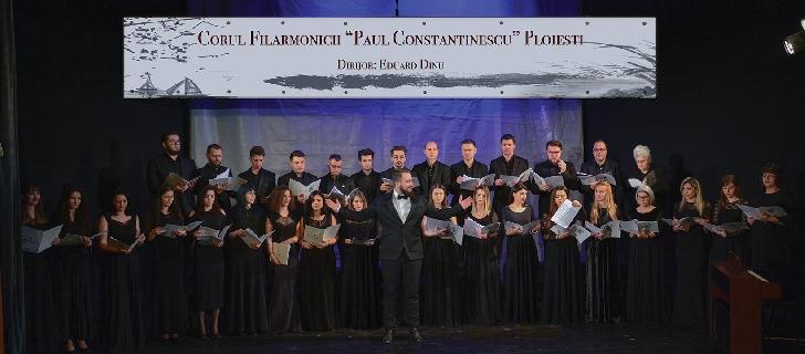 """Concert Extraordinar dedicat Sărbătorilor Pascale sustinut de Corul Filarmonicii """"Paul Constantinescu"""" Ploieşti"""