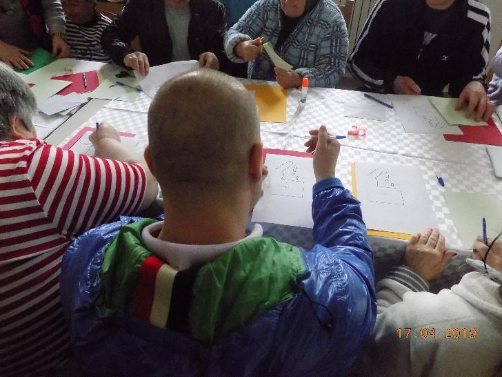 """""""Tradiţii şi obiceiuri de Paşte """" la Centrul de Îngrijire şi Asistenţă pentru Persoane Adulte cu Handicap Lilieşti-Băicoi"""