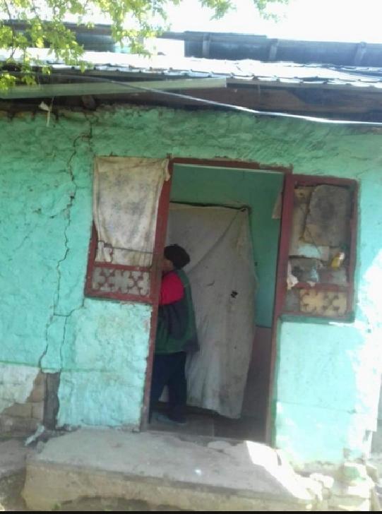 Acţiune umanitară pentru o familie cu 8 copii, din localitatea Şoimari