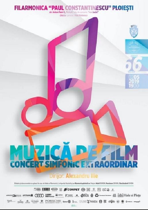 """La Filarmonica """"Paul Constantinescu """",luna mai debuteaza in acorduri de muzică de film"""