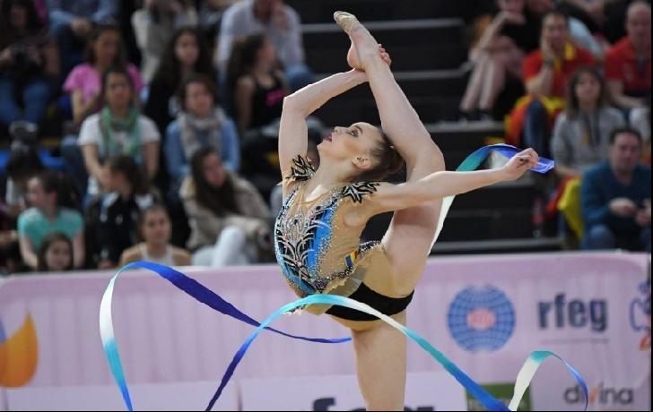 Gimnasta Denisa Stoian,rezultate bune la World Challenge Cup