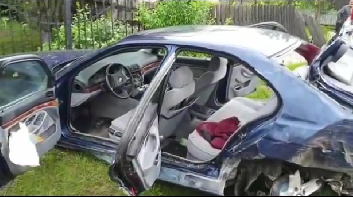 Accident rutier (grav) la Potigrafu