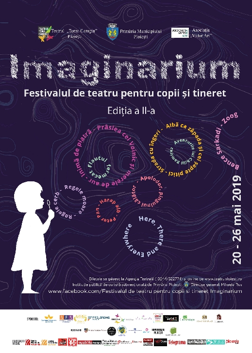 Luni începe cea de a 2 a ediţie a Festivalului de teatru pentru copii şi tineret