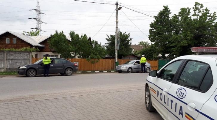 O noua actiune rutiera de amploare a politistilor rutieri din Prahova