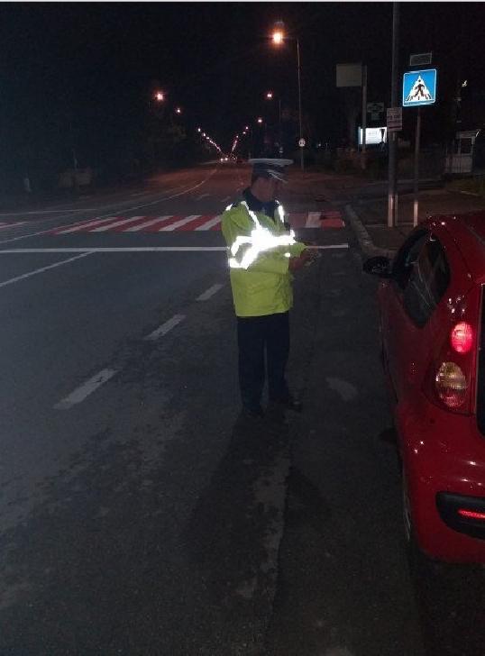 Actiuni rutiere,vineri noapte,pentru depistarea şoferilor băuţi