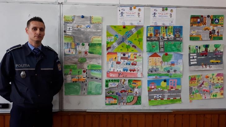 Concurs pe teme rutiere organizat de IJP Prahova