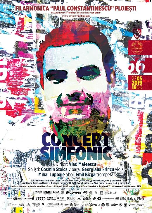 """Concert cu patru solişti, joi seara, pe scena Filarmonicii """"Paul Constantinescu """""""