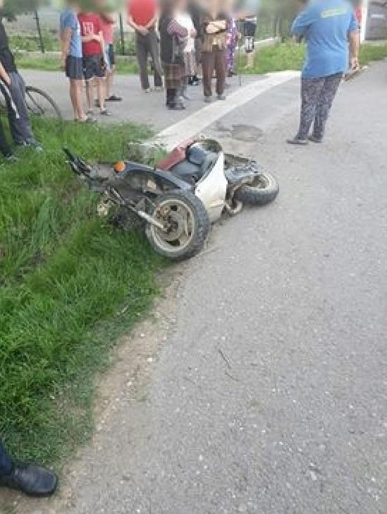 Accidentul rutier în satul Bira, comuna Balta Doamnei