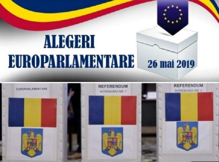 Rezultatele parţial finale la alegerile europarlamentare şi Referendum 2019