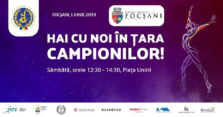 """""""Hai cu noi în ţara campionilor"""",la Focsani"""