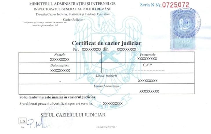 3 PUNCTE DE LUCRU PENTRU ELIBERAREA CERTIFICATELOR DE CAZIER JUDICIAR ÎN MUNICIPIUL PLOIEŞTI