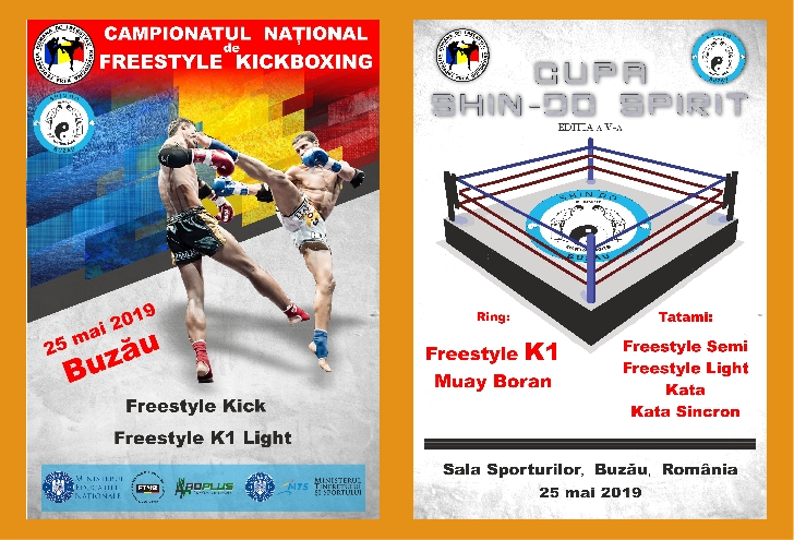 Comunicat FRFK .Campionate Nationale de Freestyle Kickboxing