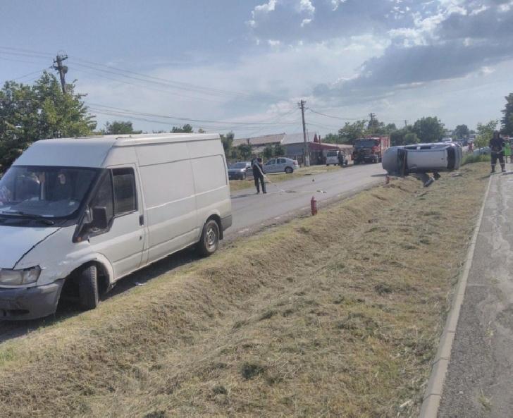 Accident rutier  în Loloiasca