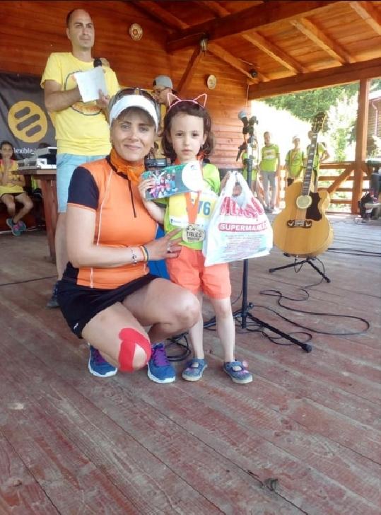 Atletul prahovean,Ion Marian a participat la un maraton caritabil,la Ţibleş ( Bistrita Nasaud )