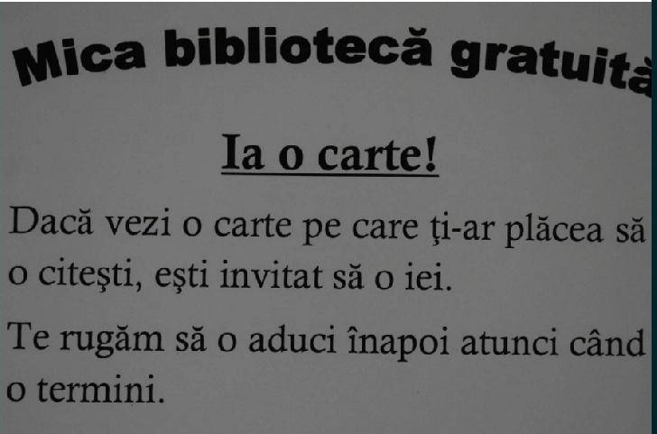 La Poienarii Burchii s-a deschis o mica biblioteca gratuita