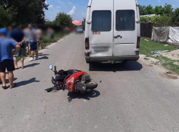 Accident rutier in satul Ologeni,comuna Poienarii Burchii