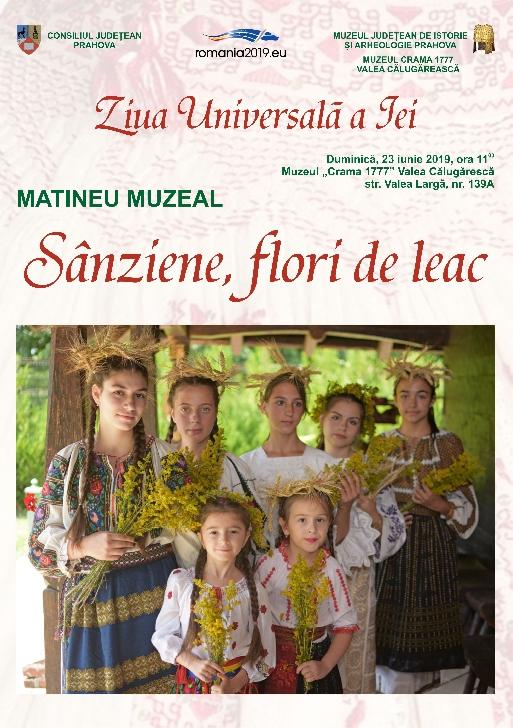 Ziua Universara a Iei sarbatorita la muzeele din Prahova