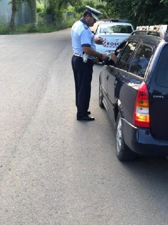 Din cauza alcoolului,94 de şoferi au rămas fără permis