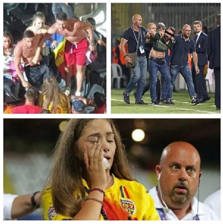 Comunicat UST în legătură cu incidentele de la sfârşitul meciului Romania-Franta, de la Euro 2019