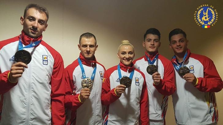 Gimnastica aerobică românească a câştigat  2 medalii la Jocurile Europene de la  Minsk