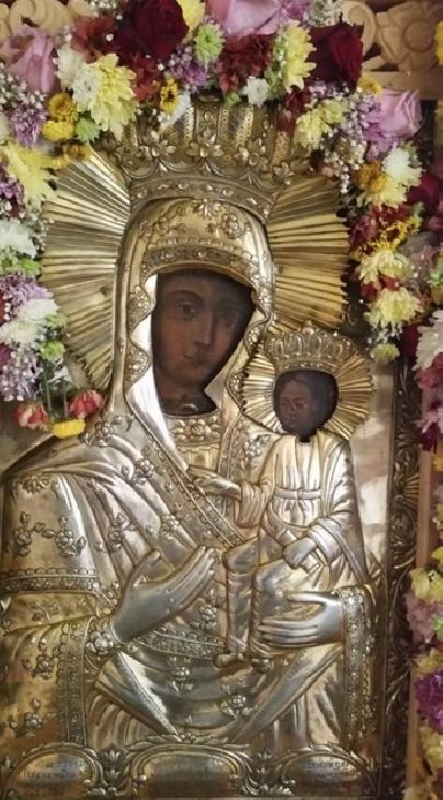 Icoana Maicii Domnului de la Mănăstirea Giurgeni vine la Biserica Înălţarea Domnului/ Eroilor - Ploieşti
