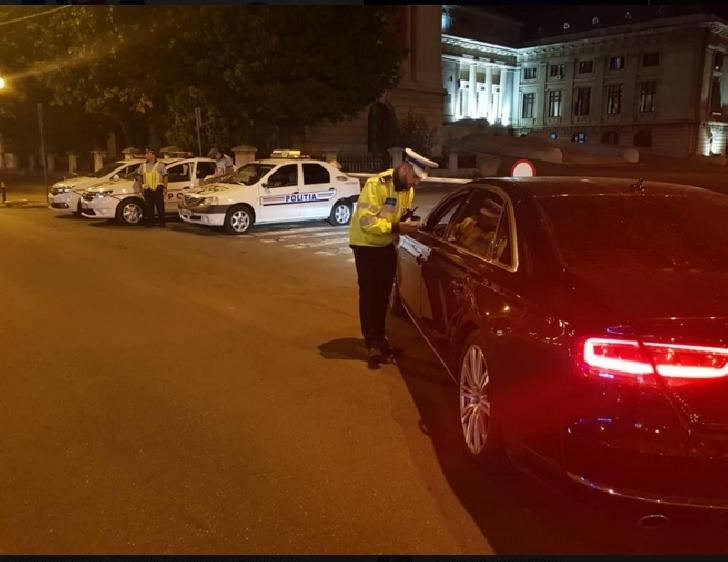 85 de sancţiuni contravenţionale aplicate de poliţiştii Biroului Rutier Ploieşti