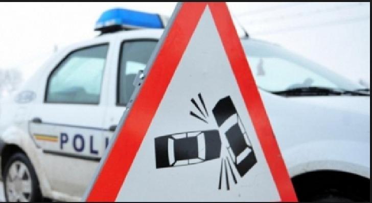 Accident rutier în apropiere de West Mall
