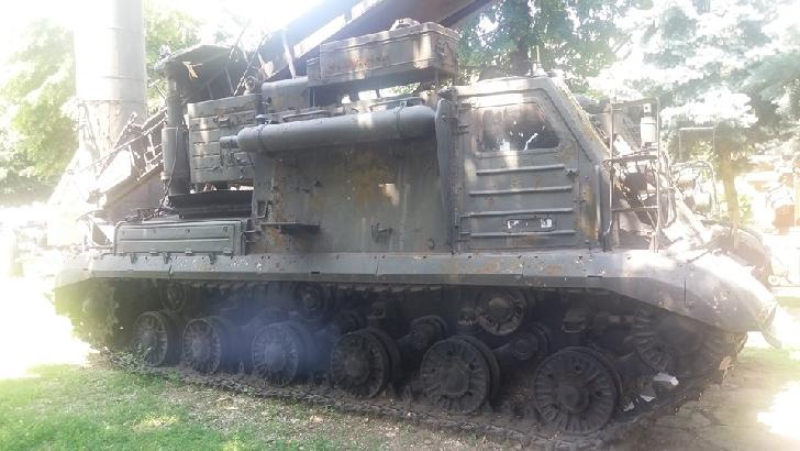 Parcul de artilerie şi blindate al Muzeului Militar - O RUŞINE NAŢIONALĂ