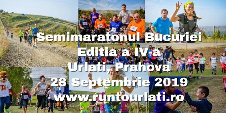 Semimaratonul Bucuriei,editia a 4 a,va avea loc in luna septembrie,la Urlati