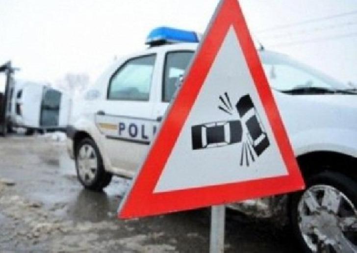 Accident rutier pe DN 1D, la iesirea din Albeşti către Ciorani