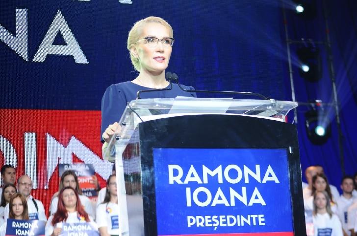 Ramona Ioana Bruynseels şi-a lansat oficial candidatura la alegerile prezidenţiale