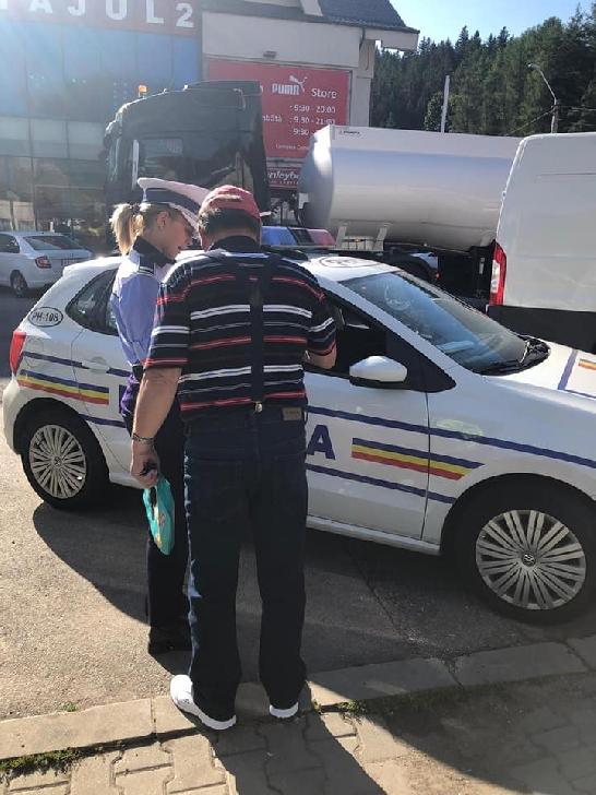 Serviciul Rutier Prahova a organizat o acţiune pentru depistarea celor care nu respecta normele legale ale regimului rutier