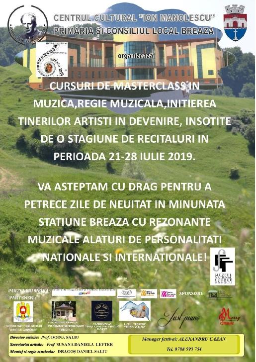 FESTIVALUL CULTURAL INTERNAŢIONAL BREAZA 2019