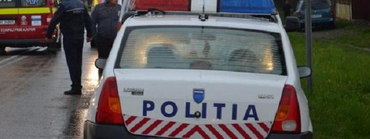 Accident rutier pe DJ 102 N în localitatea Inotesti
